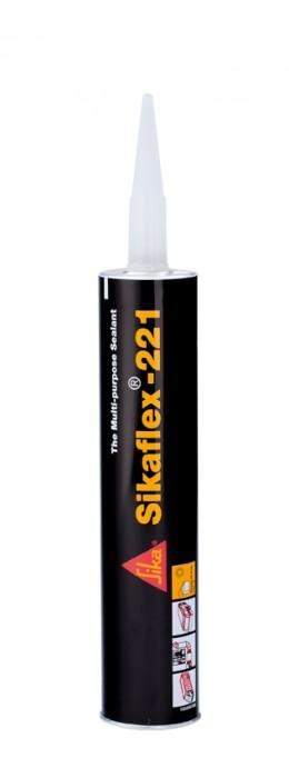 Sikaflex®-221 schwarz 300 ml Kartusche
