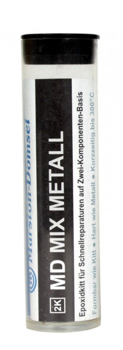 MD-mix Reparaturkitt Stahl & Metall
