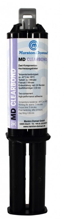 MD Clearbond 1:1 25g (Vibrationsfest/geruchsarmer Acrylkleber) inkl. Dosierspitze