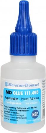 MD GLUE Rapidkleber 111.495 50g Flasche (Elektrik- und Elektronikindustrie/Dental-Bereich)