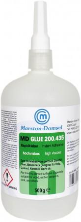 MD GLUE Rapidkleber 200.435 500g (für Holz und Leder)