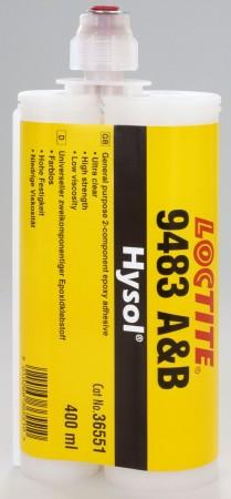 LOCTITE EA 9483 400ml (Transparent/Fließfähig) inkl. Dosierspitze