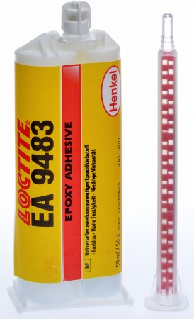 LOCTITE EA 9483 50ml (Transparent/Fließfähig) inkl. Dosierspitze