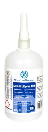 MD GLUE Rapidkleber 405 (Modellbaukleber,Kunstoffkleber) 500g Flasche