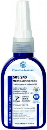 MD Anaerobe Schraubensicherung 585.243 (bis M36/Mittelfest/Hochviskos/DVGW-Freigabe)