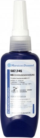 MD Anaerobe Schraubensicherung 587.245 50g (bis M80/Hochfest/hochviskos)