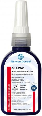 MD Anaerobe Schraubensicherung 681.262 50g (bis M36/mittelfest/hochviskos)