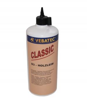 Vebatec - CLASSIC - 3 D Holzleim Quetschflasche 500g