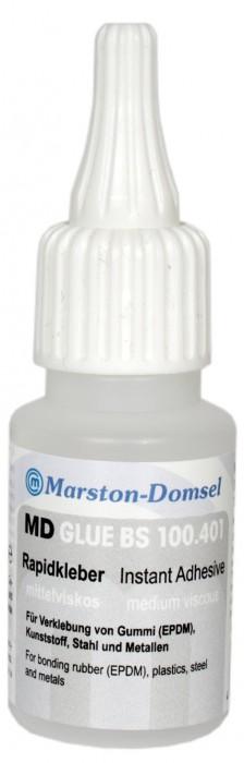 MD GLUE Rapidkleber BS100.401 20g (für Gummi [EPDM]/ Klebt in 1-3 Sek.)