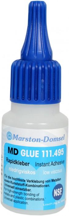 MD GLUE Rapidkleber 111.495 20g Flasche (Elektrik- und Elektronikindustrie/Dental-Bereich)