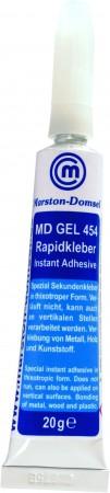 MD GLUE Gel 454 20g  (thixotroper Sekundenkleber/ verläuft nicht)