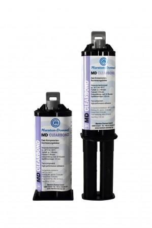 MD Clearbond 1:1 (Vibrationsfest/geruchsarmer Acrylkleber) inkl. Dosierspitze