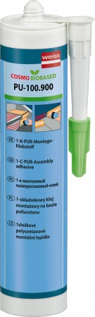 Weiss Chemie PU-100.900 Biobased 1K PUR Montageklebstoff